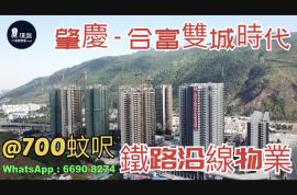 合富雙城時代_肇慶|@700蚊呎|鐵路沿線|香港銀行按揭 (實景航拍)