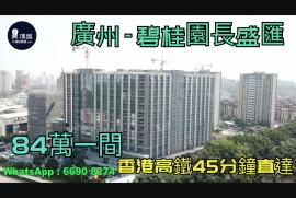 碧桂園長盛匯_廣州|總價84萬|香港高鐵45分鐘直達|香港銀行按揭 (實景航拍)
