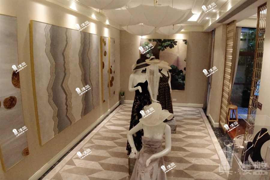 華發觀山水別墅_中山 200萬 買二層用四層 香港銀行按揭 (實景航拍)