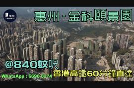 金科頤景園_惠州|@840蚊呎|香港高鐵60分鐘直達|香港銀行按揭(實景航拍)