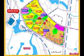 雅居樂新地_佛山 首期10萬 鐵路沿線 香港銀行按揭 (實景航拍)